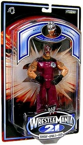 WWE Jakks Pacific Wrestlemania XXI 21 Exclusive Action Figure Rey Mysterio