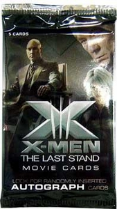 X-Men The Last Stand Movie Trading Cards Sealed Pack