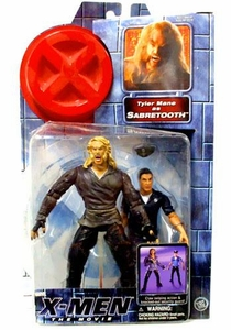 X-Men Movie Toy Biz Action Figure Tyler Mane as Sabretooth (with Security Guard)