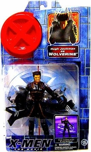 X-Men Movie Toy Biz Action Figure Hugh Jackman as Wolverine [Claw Action]