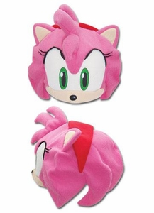 Sonic the Hedgehog Amy Face Fleece Cap