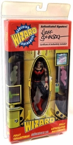 Wizard Exclusive Action Figure Wonder Man Signed By Jeff Johnson