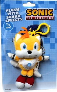 Sonic the Hedgehog 5 Inch MINI Plush with Sounds Effects Tails