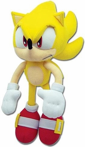 Sonic the Hedgehog GE Animation 12 Inch Plush Figure Super Sonic