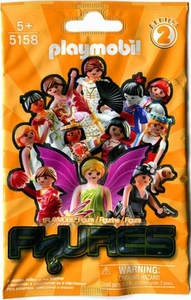 Playmobil Figures Series 2 Minifigure ORANGE Mystery Pack [1 RANDOM Figure]