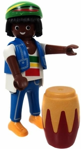 Playmobil Fi?ures Series 3 LOOSE Mini Figure Caribbean Drummer