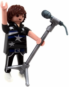Playmobil Fi?ures Series 3 LOOSE Mini Figure Rock Singer