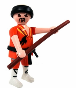 Playmobil Fi?ures Series 3 LOOSE Mini Figure Martial Artist BLOWOUT SALE!