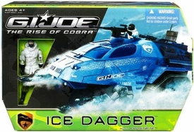 GI Joe Movie The Rise of Cobra Vehicle Ice Dagger with Frostbite Action Figure