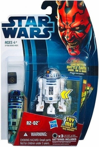 Star Wars 2012 Saga Movie Heroes Action Figure #3 R2-D2 [Electronic Lights & Sounds]
