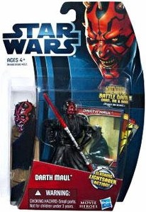 Star Wars 2012 Saga Movie Heroes Action Figure #15 Darth Maul {Version 2}