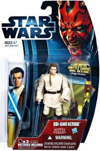 Star Wars 2012 Saga Movie Heroes Action Figure #16 Obi-Wan Kenobi {Version 2}