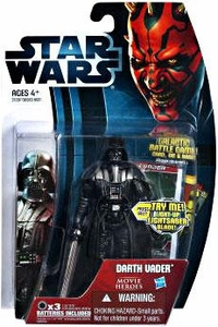 Star Wars 2012 Saga Movie Heroes Action Figure #20 Darth Vader {Version 2}