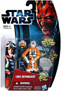 Star Wars 2012 Saga Movie Heroes Action Figure #21 Luke Skywalker