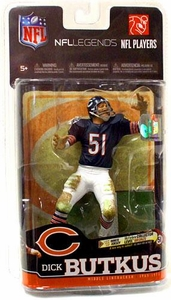 McFarlane Toys NFL Sports Picks Legends Series 6 Action Figure Dick Butkus (Chicago Bears) Blue Jersey