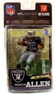 McFarlane Toys NFL Sports Picks Legends Series 6 Action Figure Marcus Allen (Los Angeles Raiders)Black Jersey
