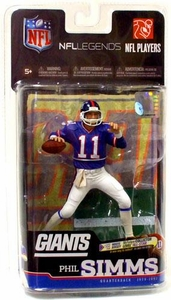 McFarlane Toys NFL Sports Picks Legends Series 6 Action Figure Phil Simms (New York Giants)