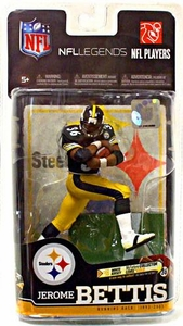 McFarlane Toys NFL Sports Picks Legends Series 6 Action Figure Jerome Bettis (Pittsburgh Steelers)Black Jersey