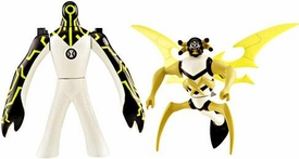 Ben 10 Alien Creation Chamber Mini Figure 2-Pack Upgrade & Stinkfly