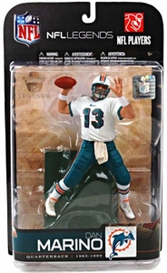 McFarlane Toys NFL Sports Picks Legends Series 5 Action Figure Dan Marino (Miami Dolphins) White Jersey Variant