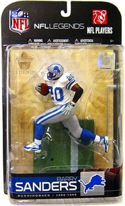 McFarlane Toys NFL Sports Picks Legends Series 5 Action Figure Barry Sanders (Detroit Lions) Silver Pants