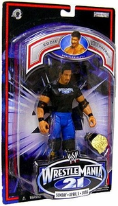 WWE Jakks Pacific Wrestlemania XXI 21 Exclusive Series 2 Action Figure Eddie Guerrero w/ Shirt