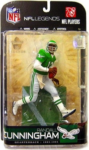 McFarlane Toys NFL Sports Picks Legends Series 5 Action Figure Randall Cunningham (Philadelphia Eagles)