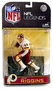 McFarlane Toys NFL Sports Picks Legends Series 4 Action Figure John Riggins (Washington Redskins) White Jersey Clean Uniform Variant