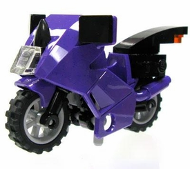 LEGO LOOSE Vehicle Purple & Black Motorcyle