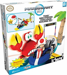 Mario Kart Wii K'NEX Set #38349 Toad's Side-Stepper Challenge BLOWOUT SALE!