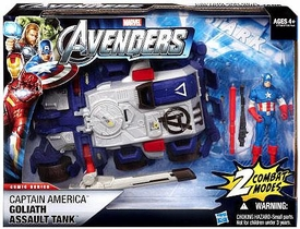 Marvel Avengers Movie Battle Vehicle Captain America Goliath Assault Tank