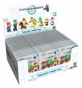 Mario Kart Wii K'NEX Mini Figure Mystery Box [48 Packs]