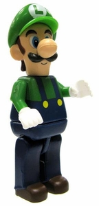 Super Mario Wii K'NEX LOOSE Mini Figure Luigi