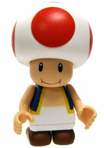 Mario Kart Wii K'NEX LOOSE Mini Figure Toad