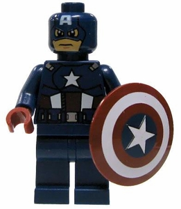LEGO Marvel Super Heroes LOOSE Complete Mini Figure Captain America