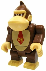Super Mario Wii K'NEX LOOSE Mini Figure Donkey Kong