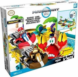 Mario Kart Wii K'NEX Exclusive Set #38155 Mario & Donkey Kong Beach Race