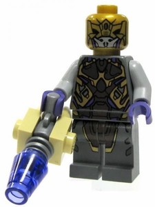 LEGO Marvel Super Heroes LOOSE Complete Mini Figure Chitauri Invader with Laser