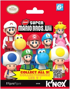 Super Mario Bros. Wii K'NEX #38106 Series 1 Mini Figure Mystery Pack [1 RANDOM Figure]