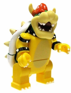 Mario Kart Wii K'NEX LOOSE Mini Figure Bowser