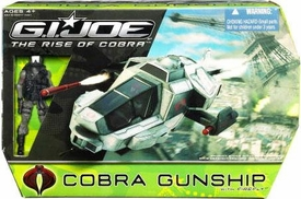 GI Joe Movie The Rise of Cobra Vehicle Cobra Gunship with Firefly [Black Helmet] Action Figure