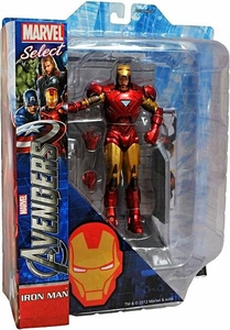 Marvel Select Action Figure Avengers Movie Iron Man