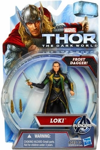 Thor The Dark World Action Figure Loki [Frost Dagger!]