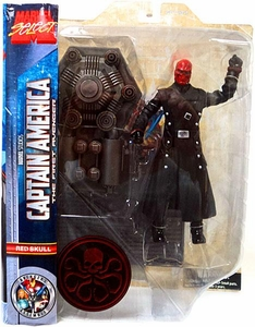 Marvel Select Captain America Movie Action Figure Red Skull