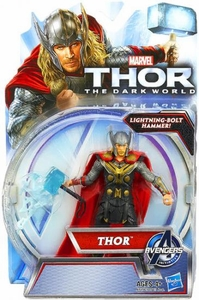 Thor The Dark World Action Figure Thor[Lightning-Bolt Hammer!]