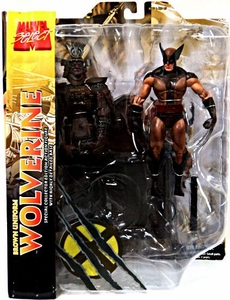 Marvel Select Exclusive Action Figure Brown Uniform Wolverine