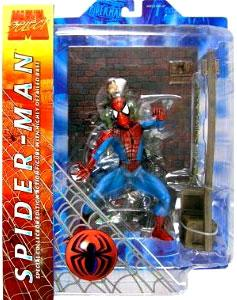 Marvel Select Action Figure Spider-Man [Includes Criminal!]