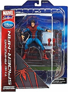 Marvel Select Exclusive Action Figure Amazing Spider-Man Movie Unmasked Spider-Man