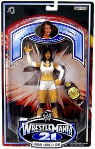 WWE Jakks Pacific Wrestlemania XXI 21 Exclusive Action Figure Victoria BLOWOUT SALE!