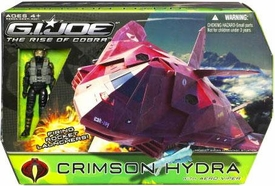 GI Joe Movie The Rise of Cobra Bravo Vehicle Crimson Hydra with Aero Viper Action Figure
